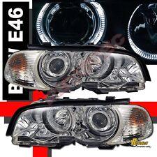 00 01 02 03 BMW E46 325Ci 330Ci 328Ci 2DR Halo Projector Headlights & Corner