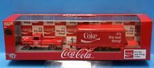 M2 Machines Coca-Cola Auto-Haulers 69 Ford F-250 Truck,Trailer, 49 Mercury CHASE