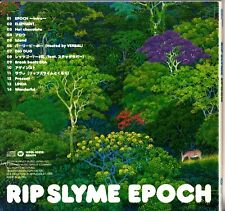 JAPAN WPCL-10370: RIP SLYME -Epoch CD -2006 (Hip-Hop/Pop Rap) OBI+Sticker