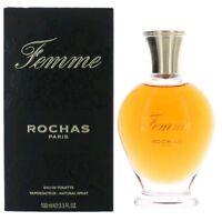 Femme by Rochas 3.4 oz EDT Perfume for Women New In Box