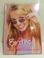 Vtg Britney The Totally 100% Unofficial Special Hard Cover Book Grandreams 2000