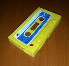 New C3US Yellow Cassette Tape Silicone Rubber Blackberry Curve 8520 Case