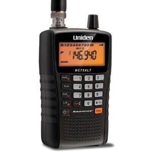 Uniden BC-75XLT Airband Radio Scanner - Frequency Range -25 - 512MHz