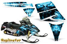 SKI-DOO REV MXZ 03-09 SNOWMOBILE SLED CREATORX GRAPHICS KIT REPLICATOR BLUE ICE