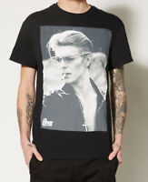 David Bowie SMOKING PHOTO T-Shirt Black NWT 100% Authentic & Official