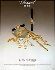 ▬► PUBLICITE ADVERTISING AD CHOPARD Happy Diamond Montre Watch