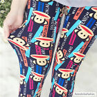 Floral 60 Prints Girl Cozy Funky Skinny Pants Leggings Free Size Fit for 45-70KG