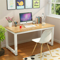 Wood Office Computer Desk PC Laptop Study Write Table Workstation Home Furniture