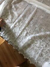 White Nylon Net Curtains