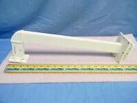 """16"""" Brass / Copper Waveguide Extension w/ 4"""" 90° H-Bend WR137 5.85-8.20GHz"""