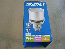 MEGAMAN AHORRO CFL GU10 14W BR2114i 4000K luz blanca Haz de luz 90º