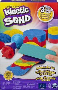 NEW Kinetic Sand 6053691 KNS ACK Rainbow Mix Set GML Toy AU FREE SHIPPING