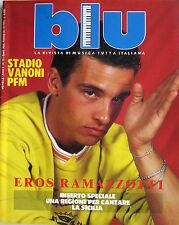 BLU 15 1987 Eros Ramazzotti PFM Stadio CCCP Ornella Vanoni Cristiano De André