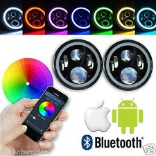 BLUETOOTH BIKE LED Headlight Thar Bullet Enfield Classic Thunderbird RGB COLORS
