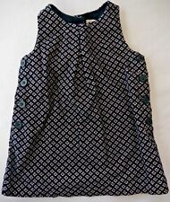 Gap Blue w/pink flowers sleeveless 2 layer dress s:18-24mo.