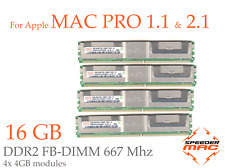  Kit Mémoire 16 GB (4x 4GB) DDR2  667MHz - FBDIMM - Mac Pro 2006-07  1.1 / 2.1