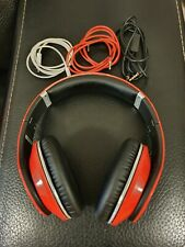 Beats Studio Monster Wireless Bluetooth Headphones Red Fully working, Excellent