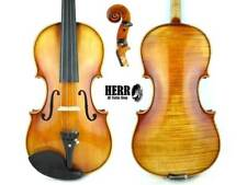 HR400 (HERR), Handmade Full size 4/4 Violin Outfit, Pirastro Tonica Strings