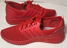 Red sneakers,women's fashion Love Lace Up Shoes