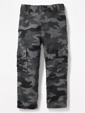 Old Navy Skinny Grey Camo Cargo Dress Pants for Toddler Boy 3yrs NWT
