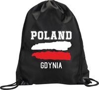 BACKPACK BAG GDYNIA POLAND GYM HANDBAG FLAG SPORT