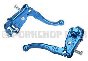 Dia-Compe reissue Tech 3 old school BMX bicycle Brake Lever Set DARK BLUE
