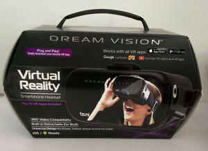 Tzumi Dream Vision Virtual Reality Smartphone Headset iOS, Android Black VR