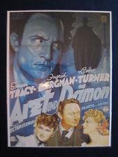 laminiertes Filmplakatmotiv als DVD-Cover:  Arzt und Dämon  Spencer Tracy