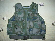 07's series China PLA Army Woodland Digital Camo Combat Tactical Vest,Set,B