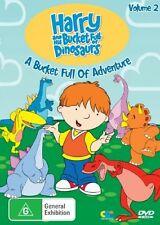 C2 BRAND NEW SEALED Harry And His Bucket Full Of Dinosaurs : Vol 2 (DVD, 2006)