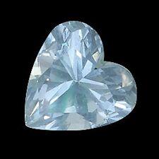 2.07 ct Natural Aquamarine Heart Blue Gemstone  # GAQ-24