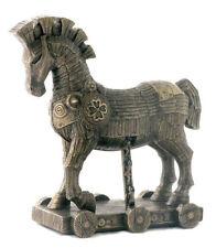 10.75 Inch Legendary Trojan Horse Battle of Troy Statue Figure Figurine Greek