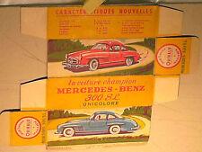 REPLIQUE  BOITE MERCEDES 300SL 1957 QUIRALU