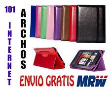 FUNDA  ARCHOS 101 INTERNET - MEDIDA ESPECIAL - 8 COLORES - UNIVERSAL