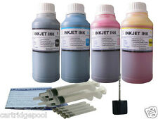 4x250ml Refill ink kit for Lexmark 36A 37A X5650 X6675 X6650 4x8oz/S