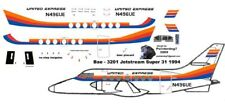 United Express  BAe 3201 Jetstream Super 31 1/72 scale for Airfix kit