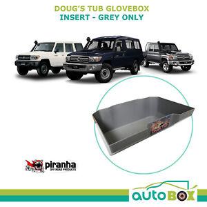 Dougs Tub Glovebox insert for Toyota Landcruiser 70 75 78 79 series Not V8