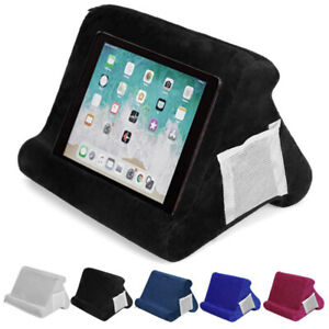 Multi-Angle Tablet Pillow Stand For iPad Book Holder Rest Lap Reading Cushion US