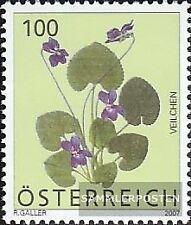 Austria 2652 (edición completa) usado 2007 flores