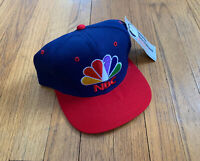 Sports Specialties Snapback Vintage 90's NBA on NBC New With Tags Mint Rare Wool