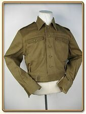 WW2 British Army Summer Denim Battle Dress Jacket XL
