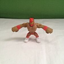 RARE WWE WWF SIN CARA RED RUMBLERS MATTEL WRESTLING FIGURE WITH ACCESSORY