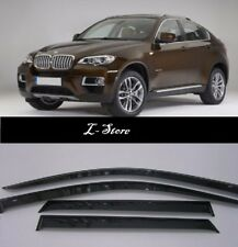 For  BMW X6 E71/ E72 2008-2014 Side Window Visors Sun Guard Vent Deflectors