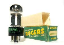 6SN7GTA NOS NIB Tube Sylvania USA Chrome Dome Top [] Getter Balanced Preamp 1957