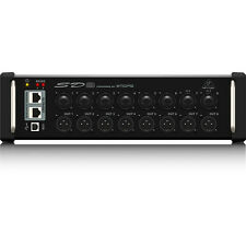 Behringer SD8 I/O Stage Box Digital Snake w/ Remote Control Preamps XLR Outputs