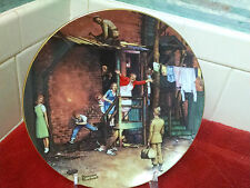 The Homecoming collector plate-Norman Rockwell 1991 The Danbury Mint Excellent!