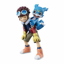 Digimon Adventure 02 Motomiya Daisuke & V-Mon PVC Figure Statue New In Box