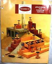 NIBCO Plumbing Heating Valves Catalog ASBESTOS Graphited Teflon Packing 1969