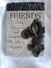"""HD25  """"Friends""""  Wall Hanging Plaque"""