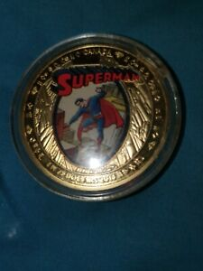 Superman 75th Aniversary Canadian $75 Gold Coin